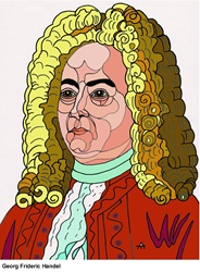 Portrait of George Frideric Handel