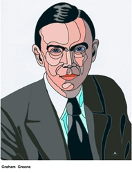 Portrait of Graham Greene