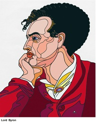 Portrait of George Gordon Byron