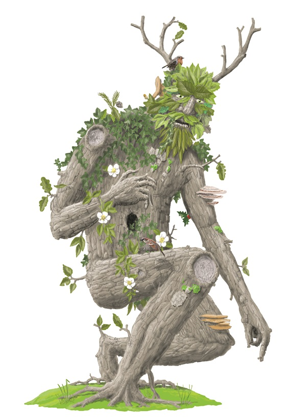 Anthropomorphic tree