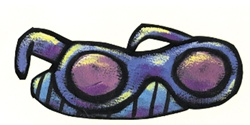 Close-up view of sunglasses
