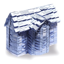 House made of paper