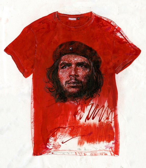 T-shirt with che guevara