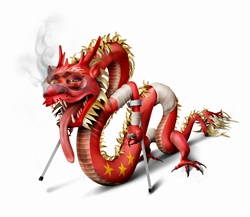 Unhealthy Chinese dragon