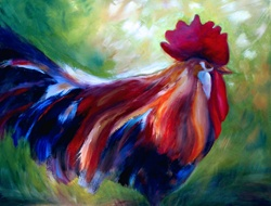 Portrait of cock