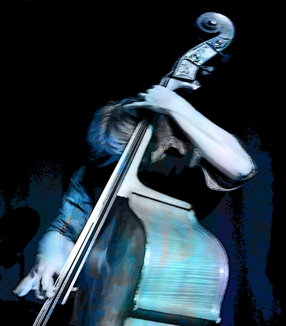 Man playing double-bass