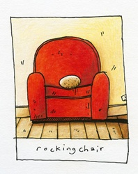Rock on armchair