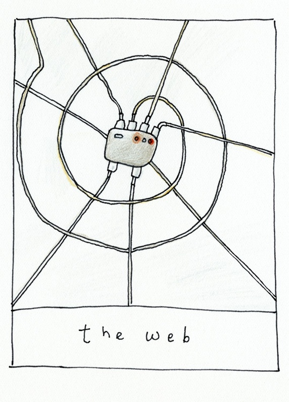Power cables making web