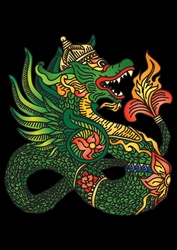 East asian dragon
